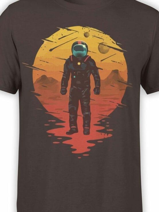 0946 NASA Shirt Astronaut Front Color