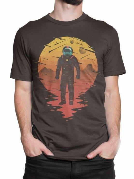 0946 NASA Shirt Astronaut Front Man 2