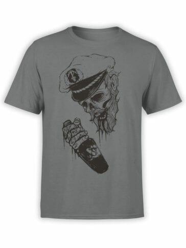 0947 Pirate Shirt Captain Death Front