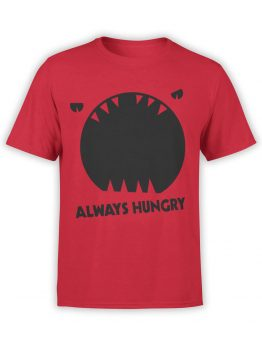 0949 Funny T Shirt Always Hungry Front
