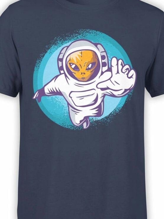 0953 NASA Shirt Alienaut Front Color