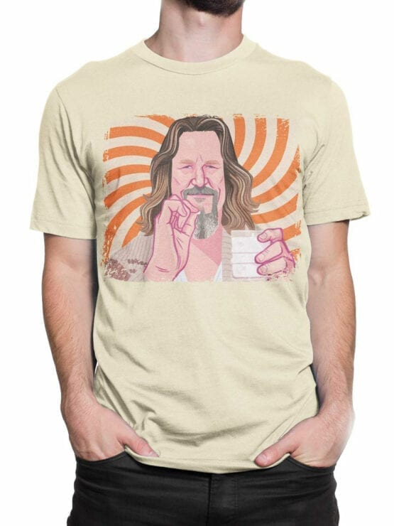 0955 The Big Lebowski T Shirt Dude Front Man 2