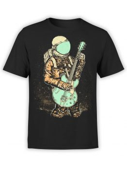 0956 NASA Shirt Guitar Front