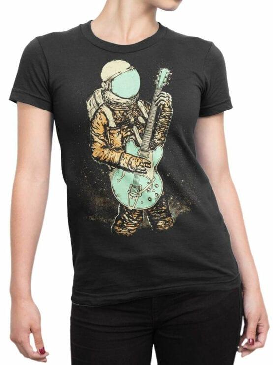 0956 NASA Shirt Guitar Front Woman