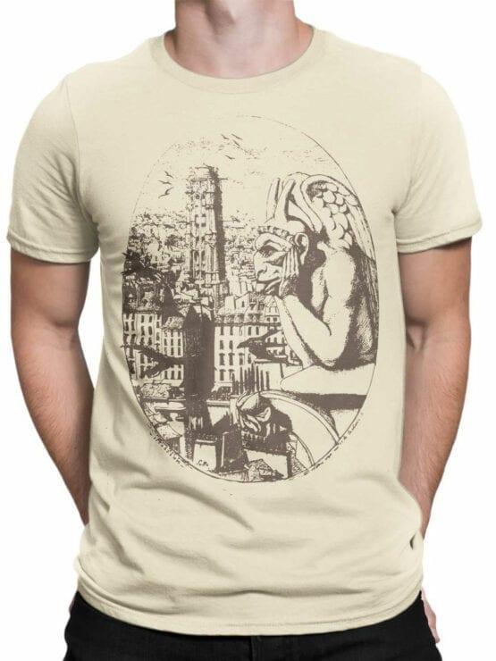 0961 Notre Dame de Paris T Shirt Gargoyle Front Man