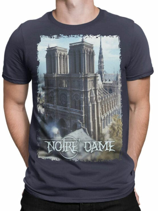 0962 Notre Dame de Paris T Shirt ND Front Man