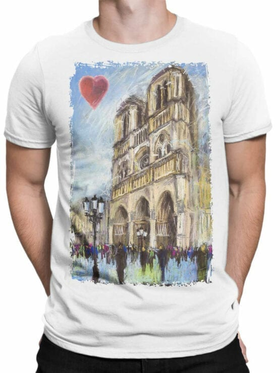 0963 Notre Dame de Paris T Shirt ND Front Man