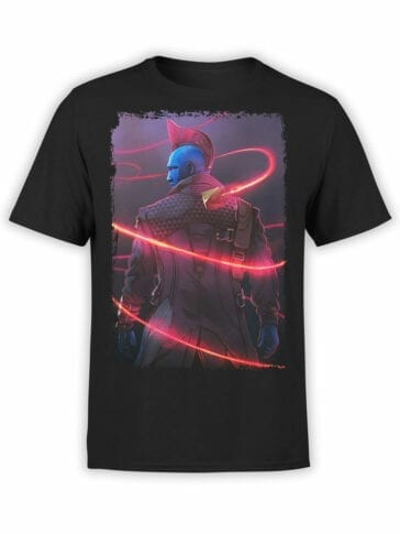 0976 Guardians of the Galaxy T Shirts Yondu Udonta Front