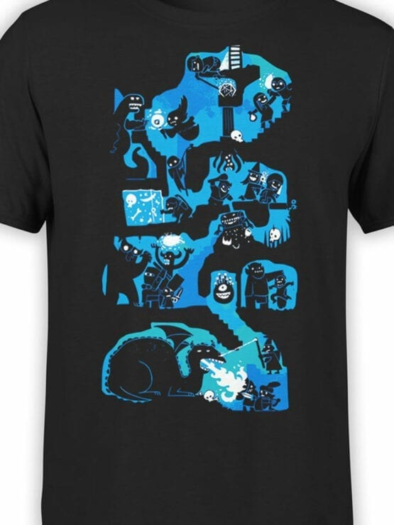 0977 Games T Shirts Dungeons And Dragons Front Color