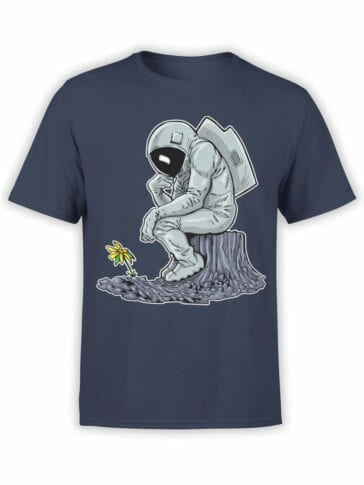 0978 NASA T Shirts The Thinker Front