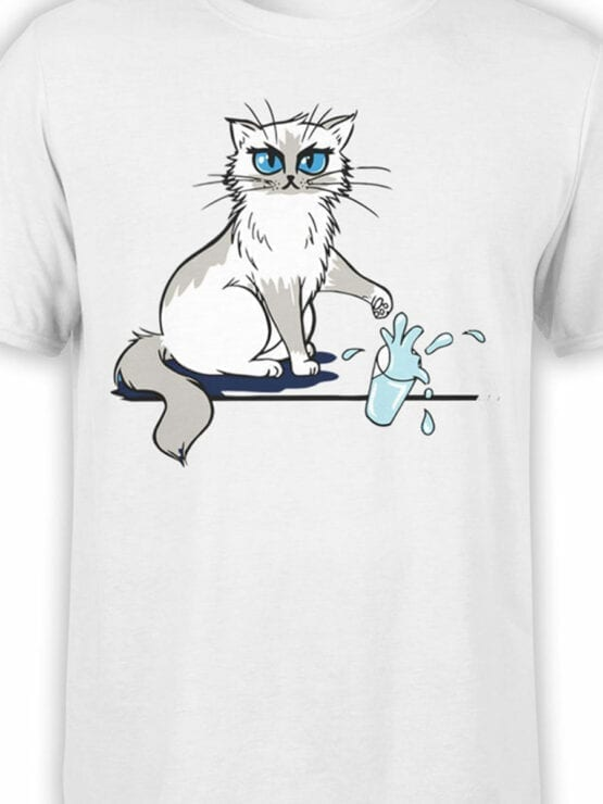 0981 Cat T Shirts No Front Color