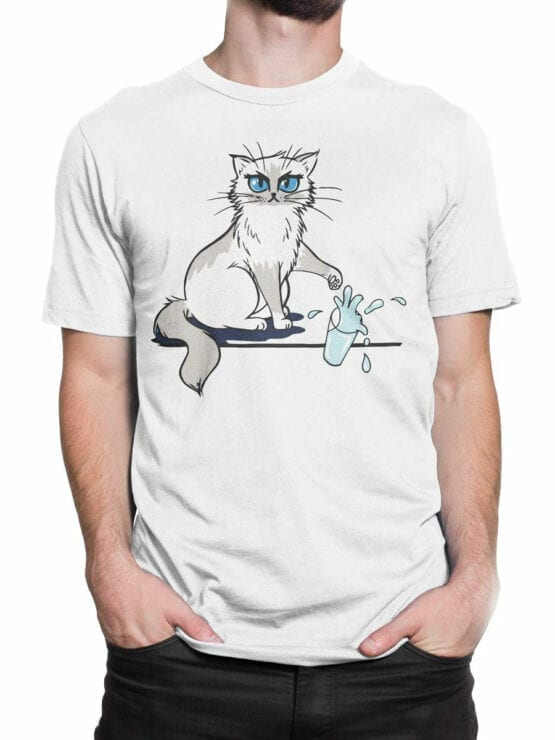 0981 Cat T Shirts No Front Man 2