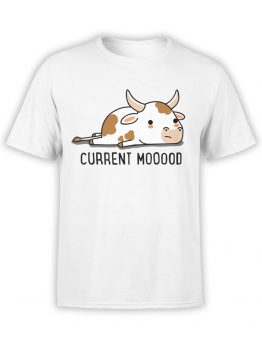 0982 Funny T Shirt Current Moood Front