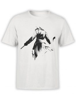 1003 Assassin's Creed T Shirt Silhouette Front
