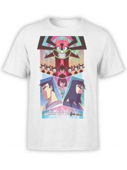 1006 Samurai Jack T Shirt Collage Front