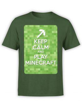 1008 Minecraft T Shirt Calm Front