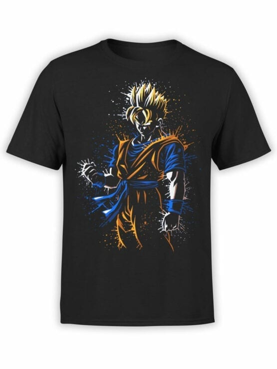 1010 Dragon Ball T Shirt Rage Front