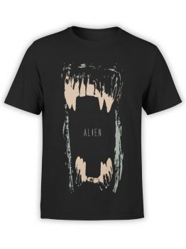 1011 Aliens T Shirt Maw Front