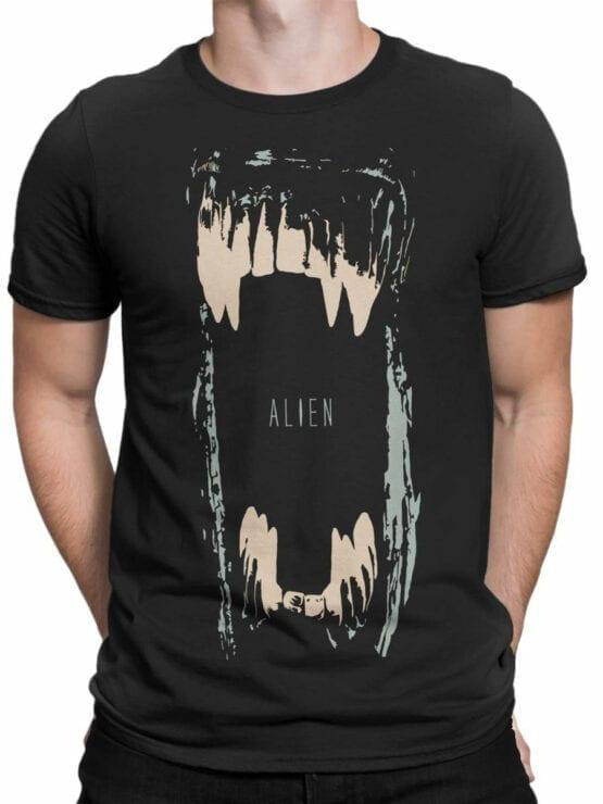 1011 Aliens T Shirt Maw Front Man