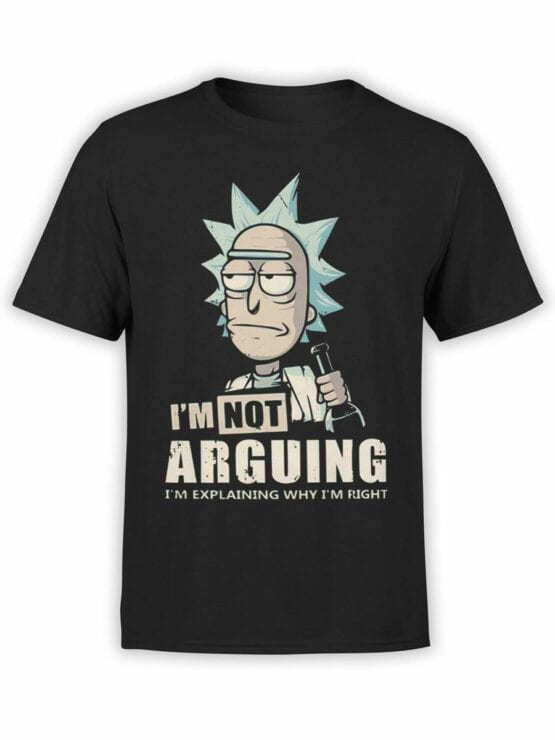 1012 Rick and Morty T Shirt Right Front