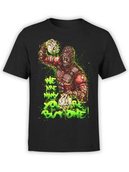 1015 Mortal Kombat T Shirt One Front