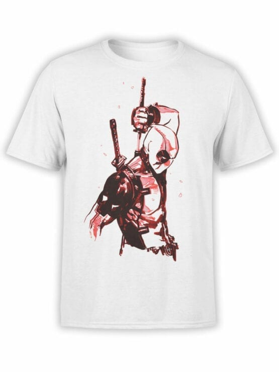 1017 Deadpool T Shirt Drawing Front