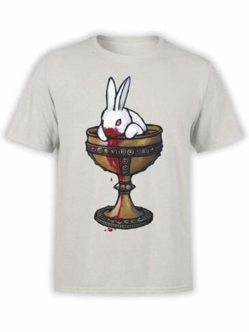 1019 Monty Python T Shirt Holy Grail Front