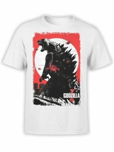 1024 Godzilla T Shirt War Front