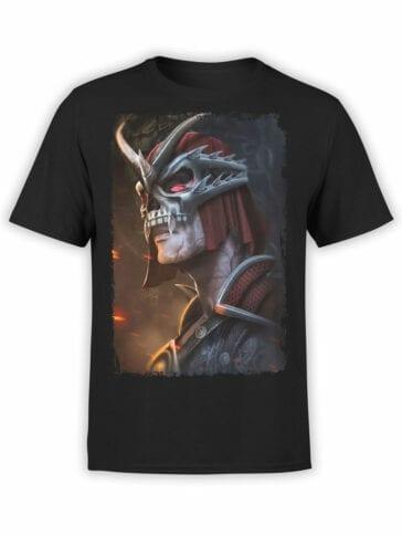 1025 Mortal Kombat T Shirt Shao Kahn Front