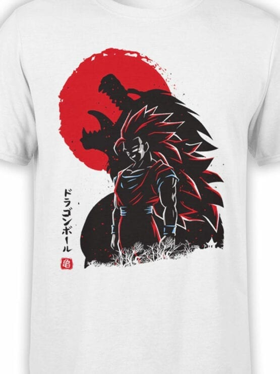 1030 Dragon Ball T Shirt Shadow Front Color