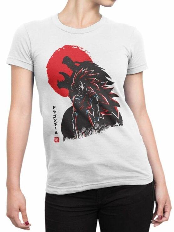 1030 Dragon Ball T Shirt Shadow Front Woman