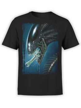 1031 Aliens T Shirt Face Front