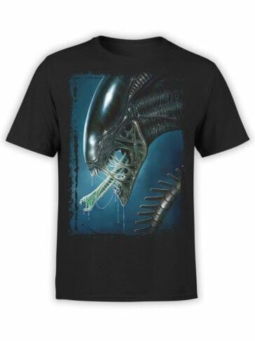 1031 Aliens T Shirt Face Front