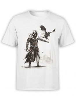 1033 Assassin's Creed T Shirt Hunt Front