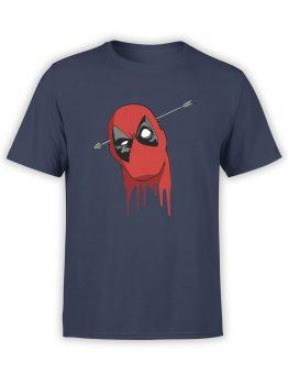 1037 Deadpool T Shirt Head Front