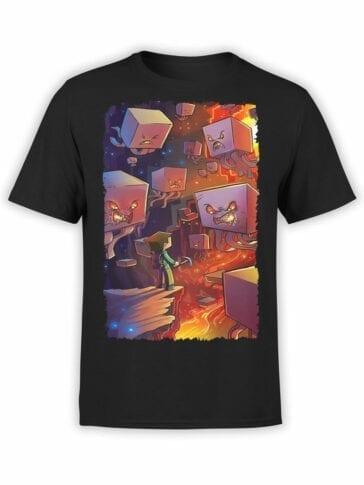 1038 Minecraft T Shirt Battle Front