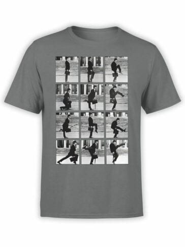 1039 Monty Python T Shirt Ministry of Silly Walks Front