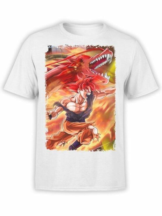 1040 Dragon Ball T Shirt Dragon Front