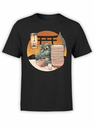 1044 Godzilla T Shirt Cute Front