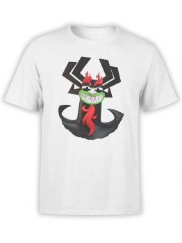 1046 Samurai Jack T Shirt Aku Front