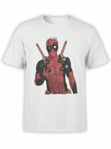1047 Deadpool T Shirt V Front