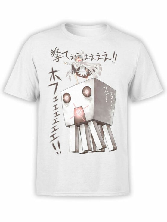 1048 Minecraft T Shirt Attack Front