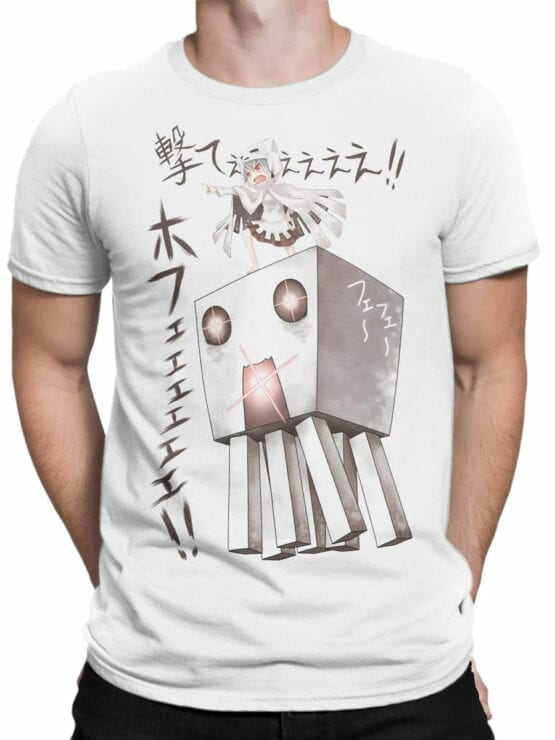 1048 Minecraft T Shirt Attack Front Man
