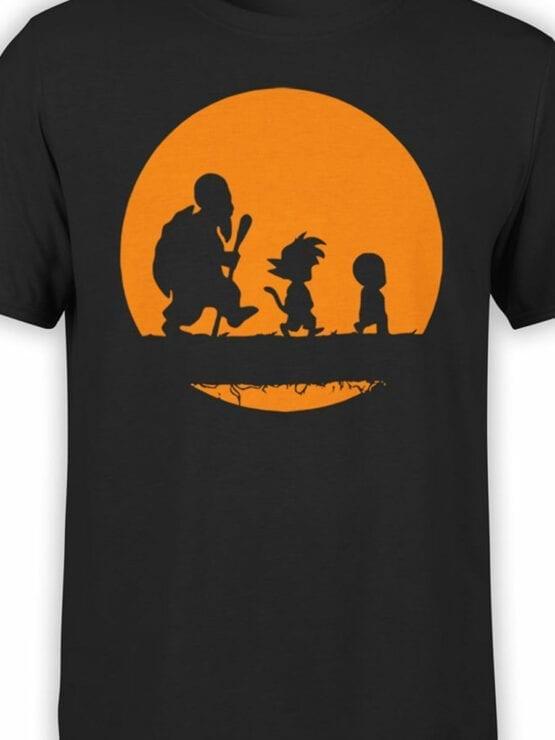 1050 Dragon Ball T Shirt Way Front Color