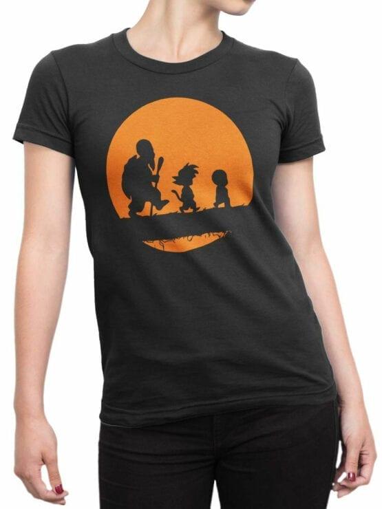 1050 Dragon Ball T Shirt Way Front Woman