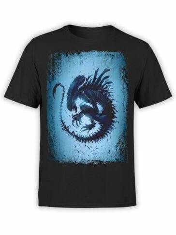 1051 Aliens T Shirt Germ Front