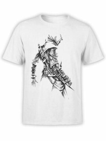 1053 Assassin's Creed T Shirt Killer Front