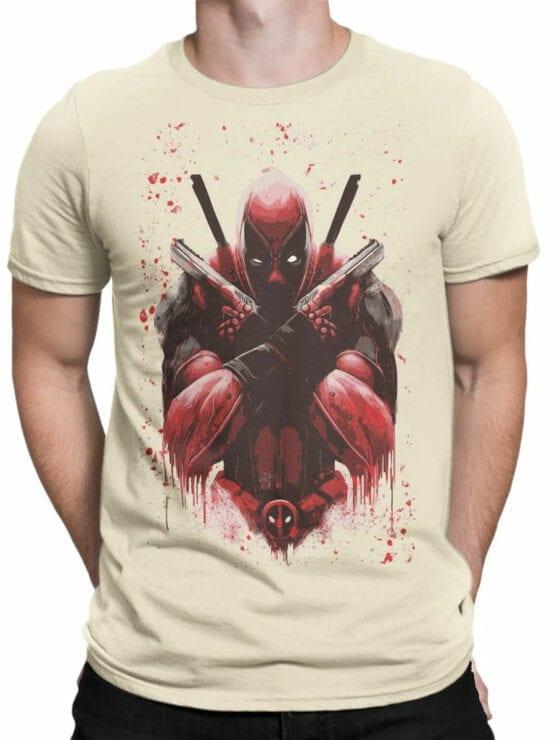 1057 Deadpool T Shirt X Front Man