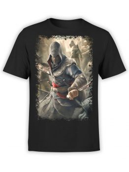 1063 Assassin's Creed T Shirt Dagger Front