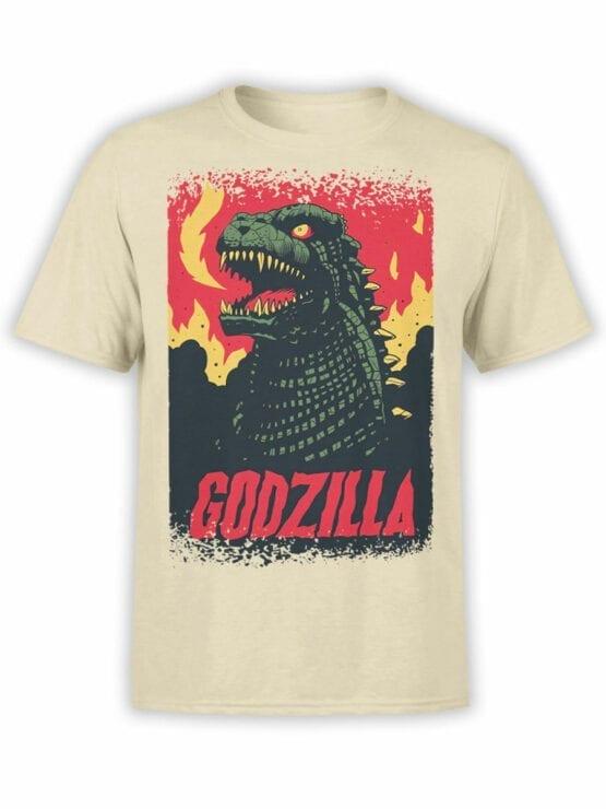 1064 Godzilla T Shirt Poster Front